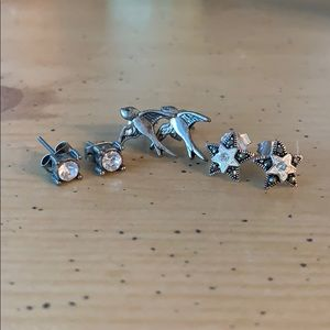 American Eagle Stud Earring Bundle